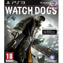 Jogo Ps3 - Watch Dogs - Usado