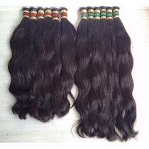 Aplique-cabelo Humano-indiano-megahair-liso -50/55cm- 50gr