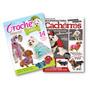 Lote De 2 Revistas Moda Pet Tecido E Crochê - Roupa Cães
