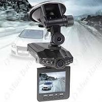 Câmera Filmadora Veícular Hd Dvr Visor Lcd 2,5 + Cartão 8gb