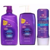 Kit Aussie C/3 Shampoo+condicionador 865ml+mascara