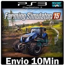 Farming Simulator 2015 15 Ps3 Psn Pt Br - Envio Imediato