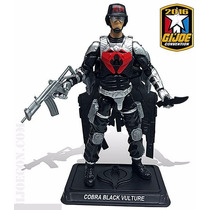 Gi Joe Joecon Black Vulture (abutre Negro) - Brinquetoys