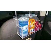 Caixa Acrilica P Carro - Porta Balas - Água - Taxi - Uber