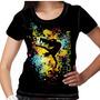 Camiseta Capoeira Kick Feminina