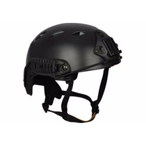 Capacete Tático Airsoft / Paintball Tb957 Preto