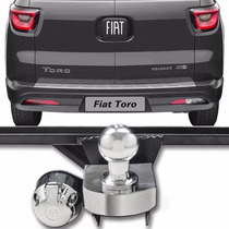 Engate Para Reboque Rabicho Fiat Toro Cromada
