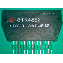 Stk4392 Circuito Integrado Stereo Amplifier
