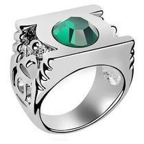 Anel Lanterna Verde Tamanho Único 20mm - Liga Da Justiça Dc