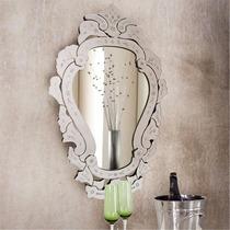 Espelho Veneziano Grande Decorativo Provençal Para Sala Casa