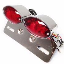 Lanterna Suporte Placa Pisca Fixo Universal Custom Eye Cat