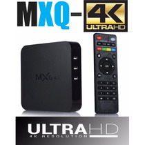 Media Player Mxq 4k Hevc H2.65 Quandricore Android 4.4 Smart