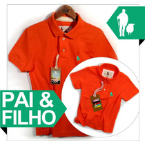 As Mais Vendidas Camisa Camiseta Polo Tal Pai E Filho Iguais