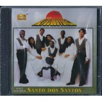 Cd Grupo Altos Louvores - Santo Dos Santos [bônus Playback]