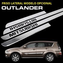 Friso Cromado Para Outlander - Friso Cromado Kit 4 Peças