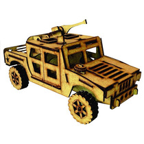 Brinquedo De Montar - Quebra-cabeça 3d - Hummer