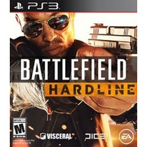 Jogo Ps3 Battlefield Hardline Original Português