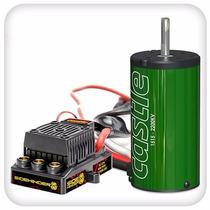 Castle - Sidewinder 8th: Motor + Esc: 1515b-2200kv - 1:8