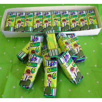 Kit 50 Chocolate Bis + 50 Baton Aniversário Personalizado