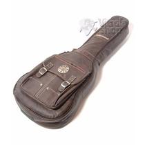 Capa Violão Clássico Couro Solid Sound Vintage Marrom