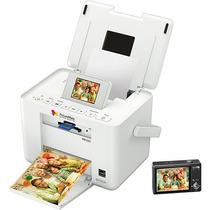Impressora Portátil Epson, Jato De Tinta, Leitor De Cartões