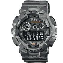 Relógio Casio G-shock Gd-120cm-8dr Camuflado Com Nota Fiscal
