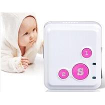 Mini Rastreador Localizador Gsm Gps Pessoal Para Crianca Sos