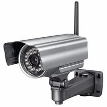 Câmera Ip Externa Wifi À Prova D