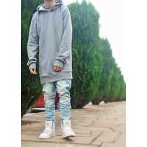 Blusa Moletom De Frio Boa Qualidade Estilo Justin Bieber