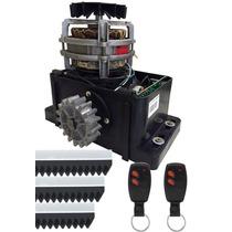 Kit Portão Eletrônico Motor 1/4 Hp Omegasat