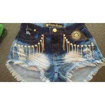 Shorts Jeans Feminino Promoção!!! Kit C/10 Peças...
