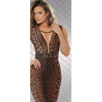 Vestido Tendencia Animal Print