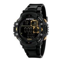 Relógio Masculino Mormaii Acqua Pro Mo13609/8d - Preto