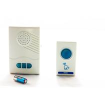 Campainha De Porta Residencial Wireless Sem Fio Bivolt