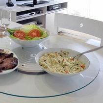 Prato Tampo Giratório 60 Vidro Temperado Bon Gourmet