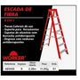 Escada De Fibra 8 Em 1 Worker 9 Degraus