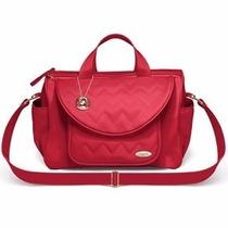 Bolsa Golden Pequena Classic For Baby Bags - Vermelha