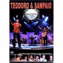 Teodoro & Sampaio Ao Vivo Convida Dvd Lacrado Original