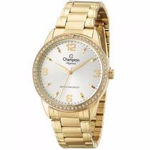 Relógio Feminino Champion Elegance Barato Cn27269h