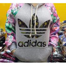 Blusa Moletom Adidas Florida Floral Feminino Top 100% Vip-ad