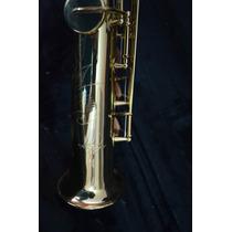 Sax Soprano Newport Nw - Ss615 + Cx C/ 10 Palhetas (((usa)))