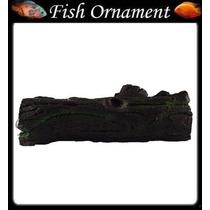 Enfeite Resina Aquario Tronco Com Limo Mm013 Fish Ornament