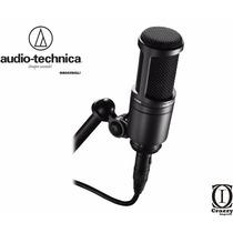 Microfone Audio Technica At-2020 Condensador Studio + Brinde