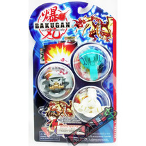 3 Bakugan Battle Brawlers + Card Metal - Kit_04