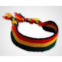 Bracelete Pulseira Tornozeleira Reggae Jamaica Bob Marley