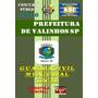 Apostila Concurso Prefeitura Valinhos Sp Guarda Civil 2016