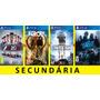 Usado, F1 2016 + Far Cry Primal + Star Wars + Need For Speed - Ps4 comprar usado  Belo Horizonte