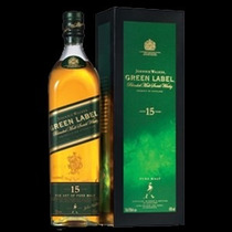 Whisky Johnny Walker Green Label 1l. Lacrado E Original!