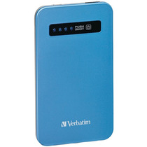Verbatim 98451 4,200mah Ultraslim Power Pack (azul Do Aqua)