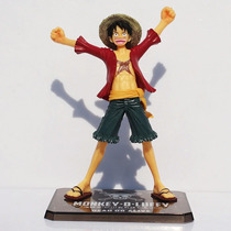 Boneco One Piece Action Figure - Monkey D Luffy